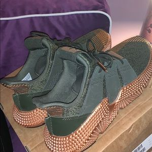 Rose Gold Adidas Prophere Trainers🌿